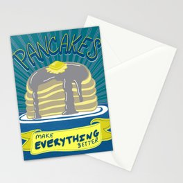 Pancakes Make Everything Better Stationery Cards