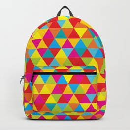 Summer Triangle Pattern Backpack