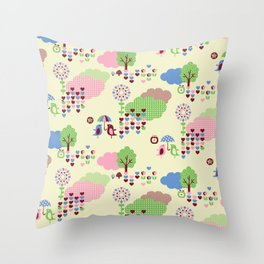 Sweet Land Throw Pillow