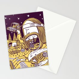 Giant Hippy Stationery Cards