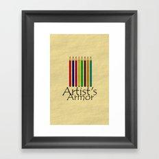 Artist's Armor Framed Art Print