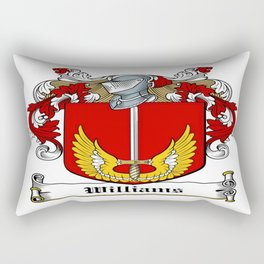 Family Crest - Williams - Coat of Arms Rectangular Pillow