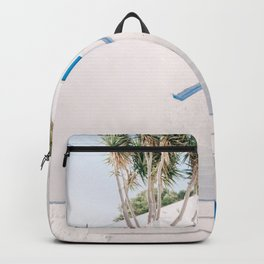 Milos 0015: Plaka, Milos, Greece Backpack