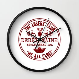 the losers club Wall Clock