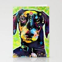 dachshund Stationery Cards featuring Dachshund by Gary Grayson
