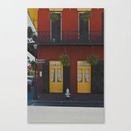 DOOR 1 Canvas Print