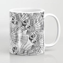 fish mirage black white Coffee Mug