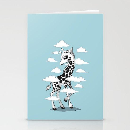 Wandering Giraffe Stationery Cards