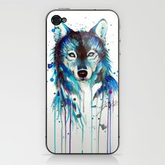 -Dark Wolf- iPhone & iPod Skin