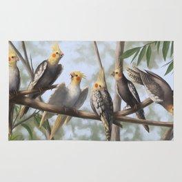 Cockatools Rug