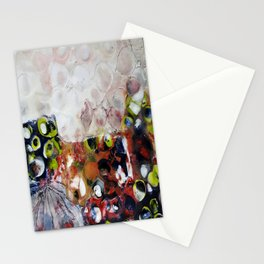 Muse Morphing - Mixed Media Beeswax Encaustic Modern Fine Art, 2015 Stationery Cards