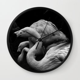Flamingo - Edinburgh Zoo Wall Clock