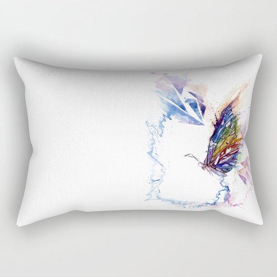 The spectrum of life Rectangular Pillow