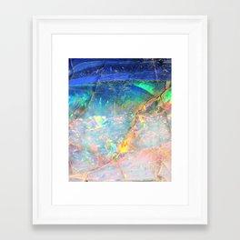 Ocean Opal Framed Art Print