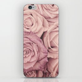 Some People Grumble - Pink Rose Pattern - Roses iPhone Skin
