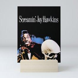 Screamin' Jay Hawkins Mini Art Print