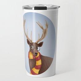 Harry Potter Stag Patronus EXPECTO PATRONUM ! Hogwarts Gryffindor Travel Mug