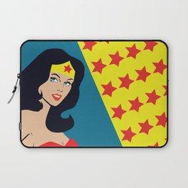 Fan art - Woman of Wonder - Superhero Laptop Sleeve