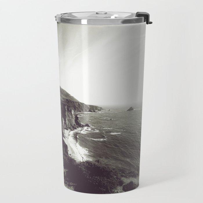 Bixby Bridge Black & White (Big Sur) Travel Mug