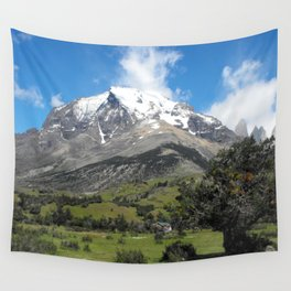Little house in Patagonia Wall Tapestry
