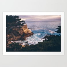 Carmel California Art Print