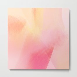 Rose petal abstract background Metal Print