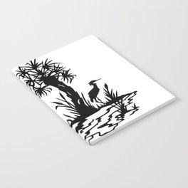 Lowcountry Herons - Papercut Silhouette Scherenschnitte Notebook