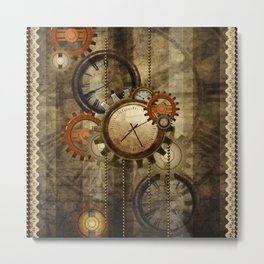 Steampunk, wonderful noble design  Metal Print