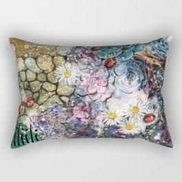 Biophilia - madewithunicorndust by Natasha Dahdaleh Rectangular Pillow