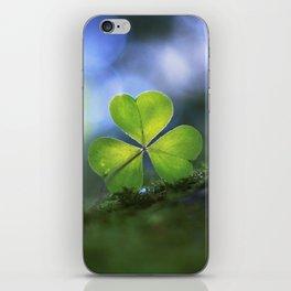 Lonely Wood Sorrel iPhone Skin