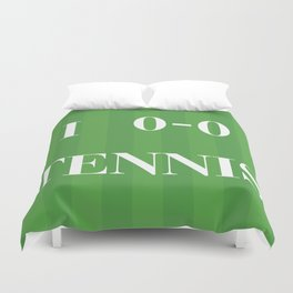 I heart Tennis Duvet Cover