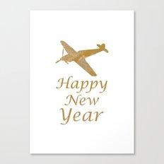 Happy New Year!! Enjoy 2015 Holidaze Canvas Print