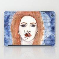 lana iPad Cases featuring Lana  by Calamus Ying Ying Chan