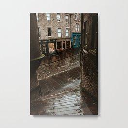 Edinburgh Old Town Metal Print