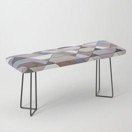 Triangle Pattern no.22 grays Bench
