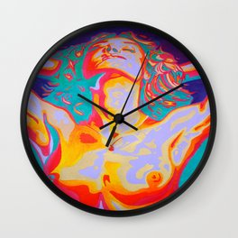 The Art of Orgasm  Wall Clock