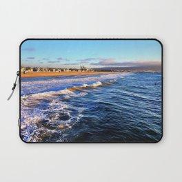 "Hermosa Beach ""On the Pier 2"" Laptop Sleeve"