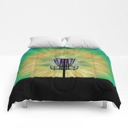 Tie Dye Disc Golf Basket Comforters