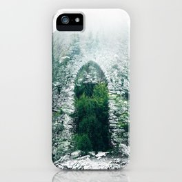 Forest Castle iPhone Case