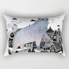 The Fog Rectangular Pillow