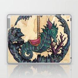 """Carousel"" series, III (Seahorse) Laptop & iPad Skin"