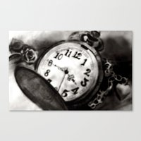 watch Canvas Prints featuring Watch by Brittany Smith