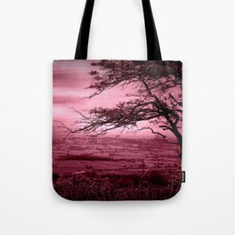 Rosy Evening Tote Bag