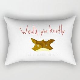 Crossover Starfox X Bioshock Rectangular Pillow