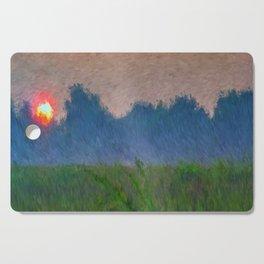 Morning Meadow Cutting Board