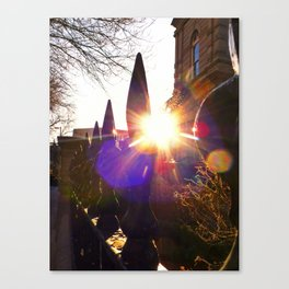 'Urban Sunburst' Canvas Print