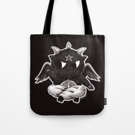 Black Cathomet Tote Bag