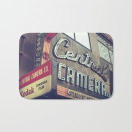 Central Camera Bath Mat