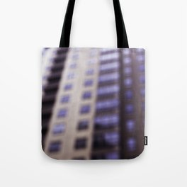 Losing Focus in Downtown Seattle Tote Bag