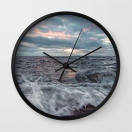 Last light of the day Wall Clock
